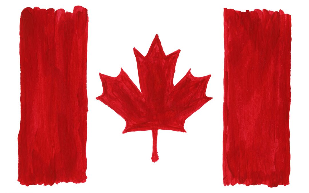 Paint a Flag for Canada Day