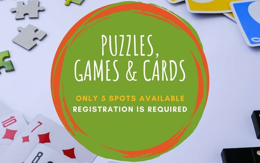 Puzzles, Games and Cards