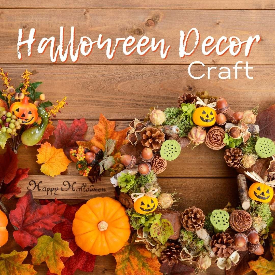 Halloween Decor Craft